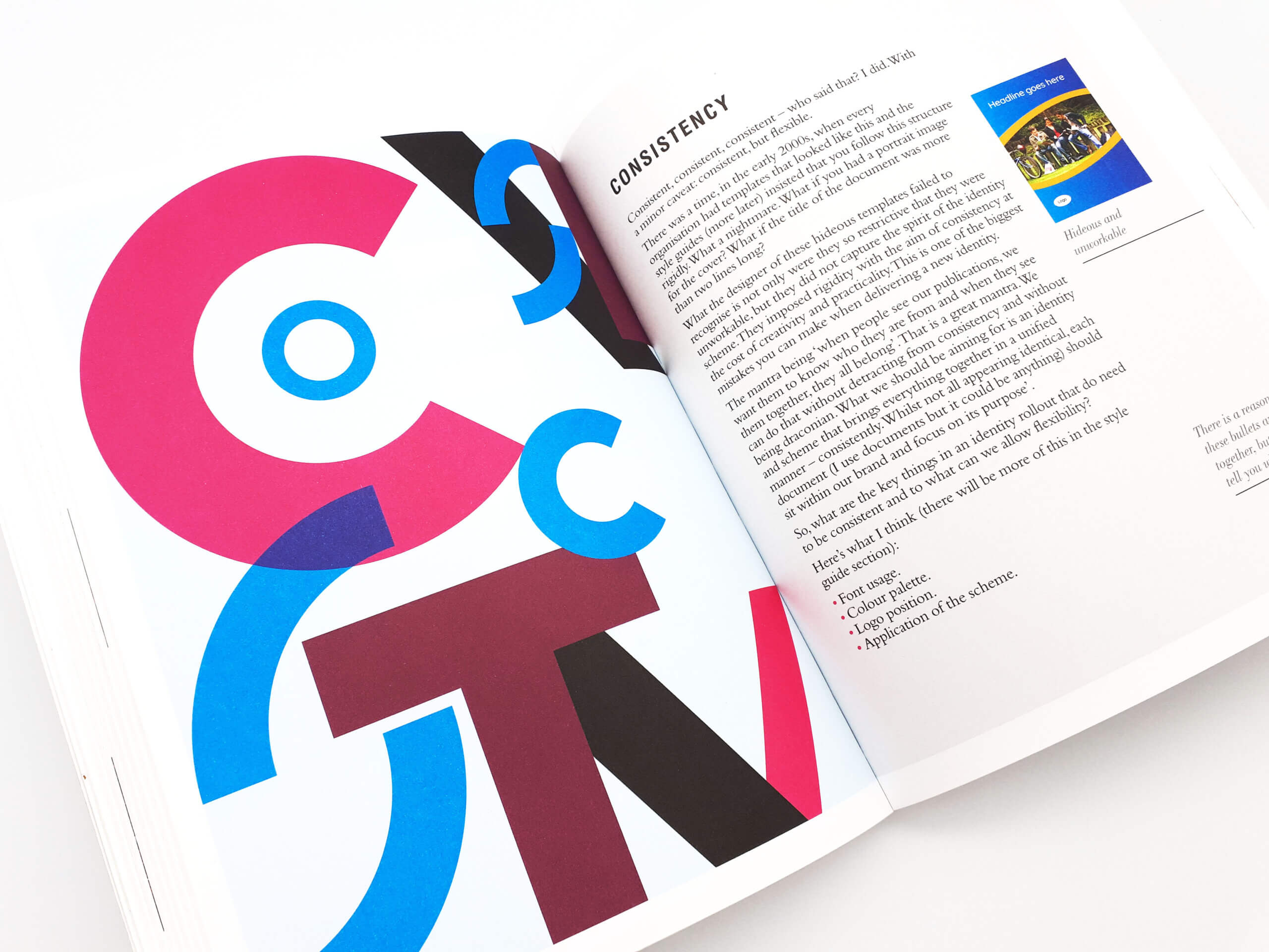 Know Your Onions - Corporate Identity By Drew de Soto - Book Review - Consistency