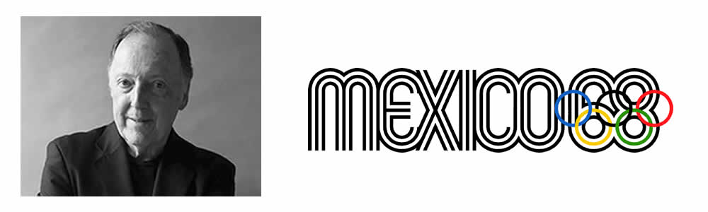 Lance Wyamn - 1968 Mexico Olympics identity - Famous Logo Designers and Their Distinctive Style