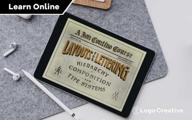 Layouts For Lettering - Hierarchy, Composition, and Type Systems With Jon Contino