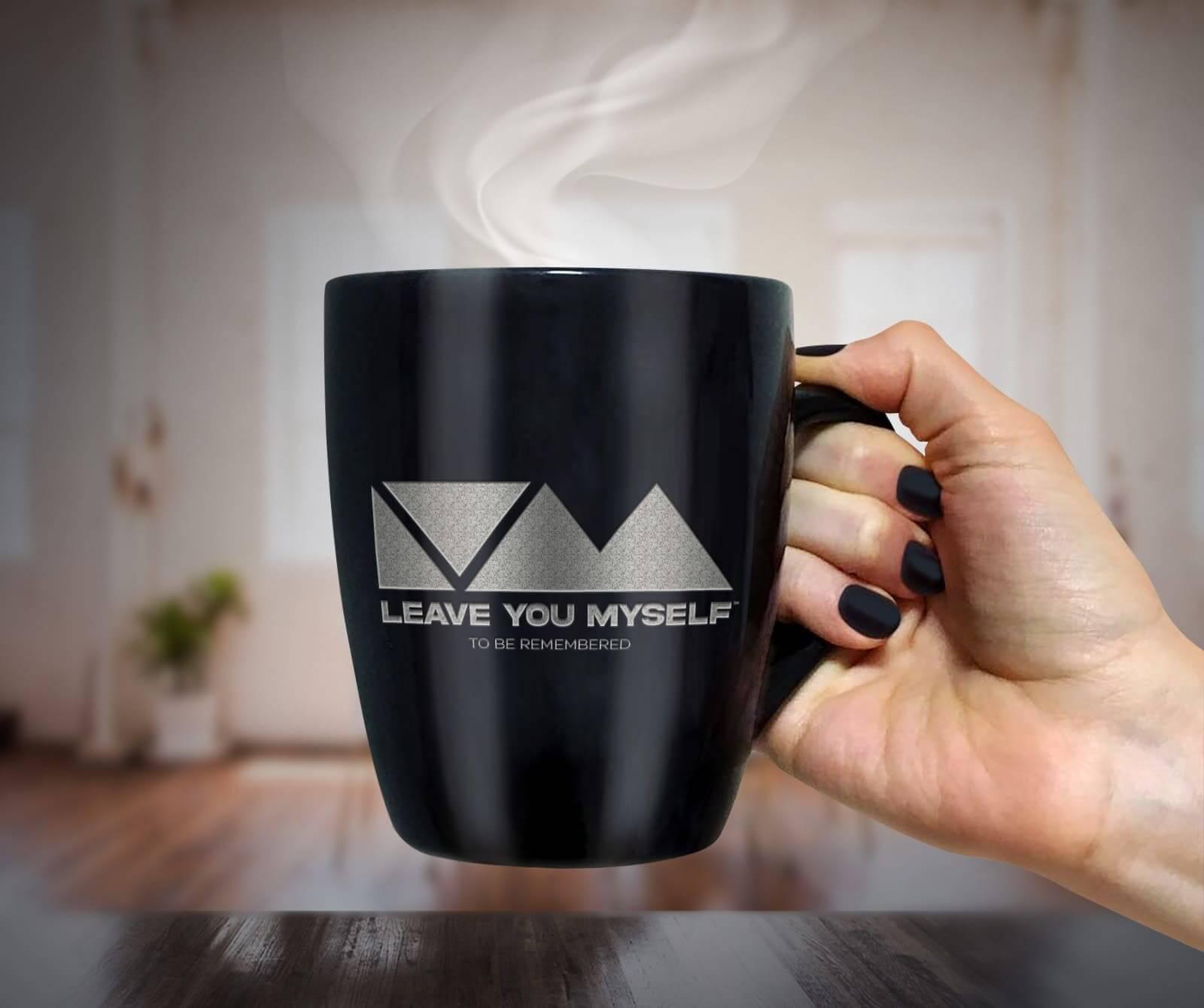 Leave You Myself Coffee Mug