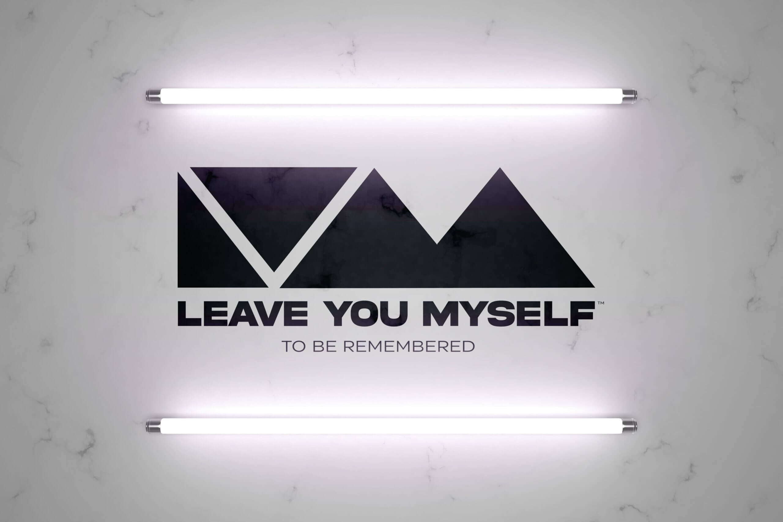 Leave You Myself Logo In Lights