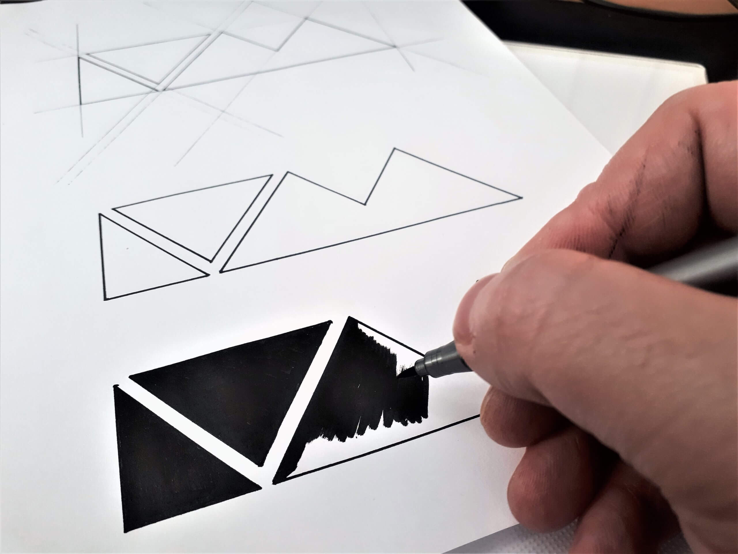 Leave You Myself Logo Inking