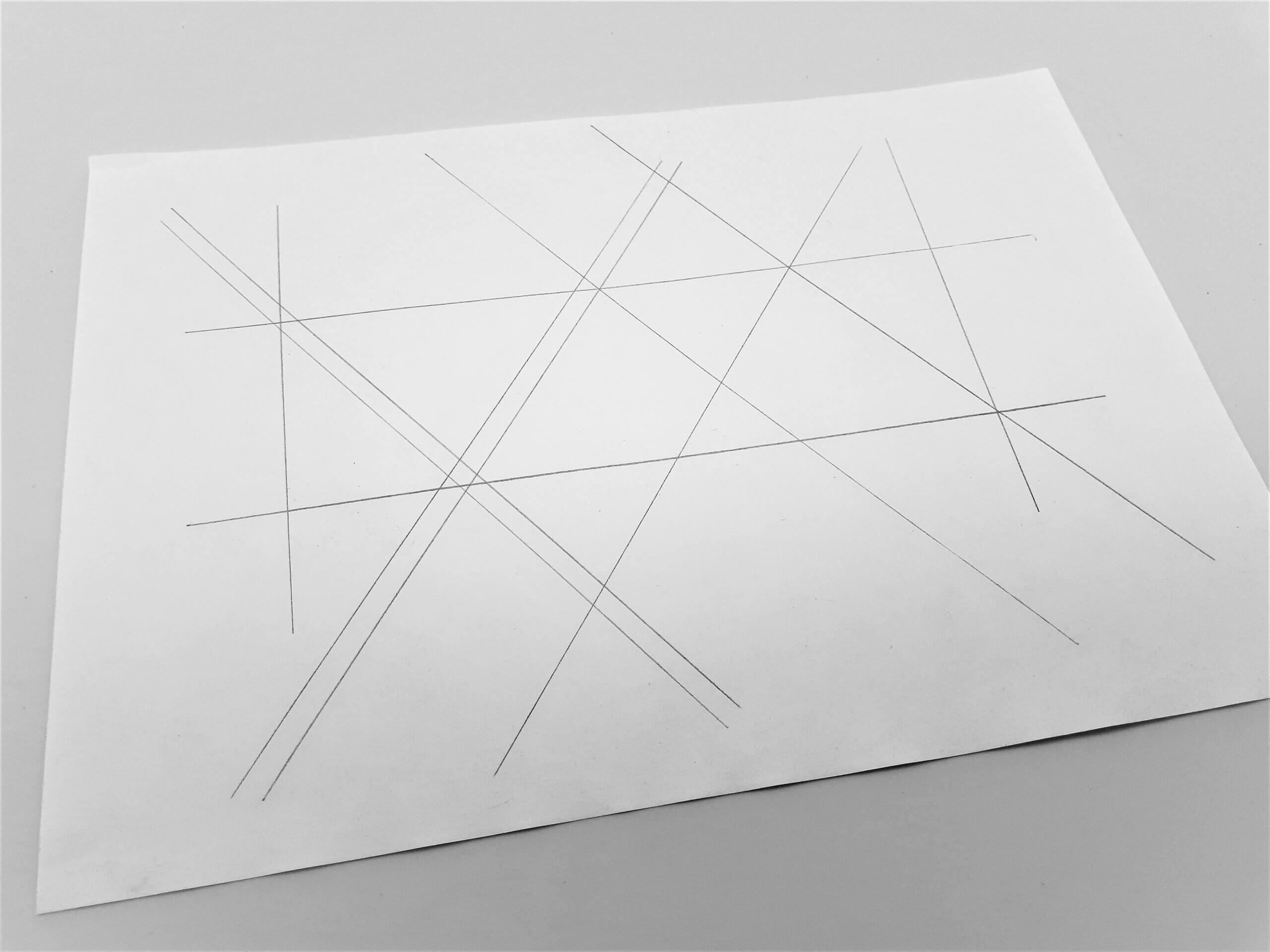 Leave You Myself Sketched Grid