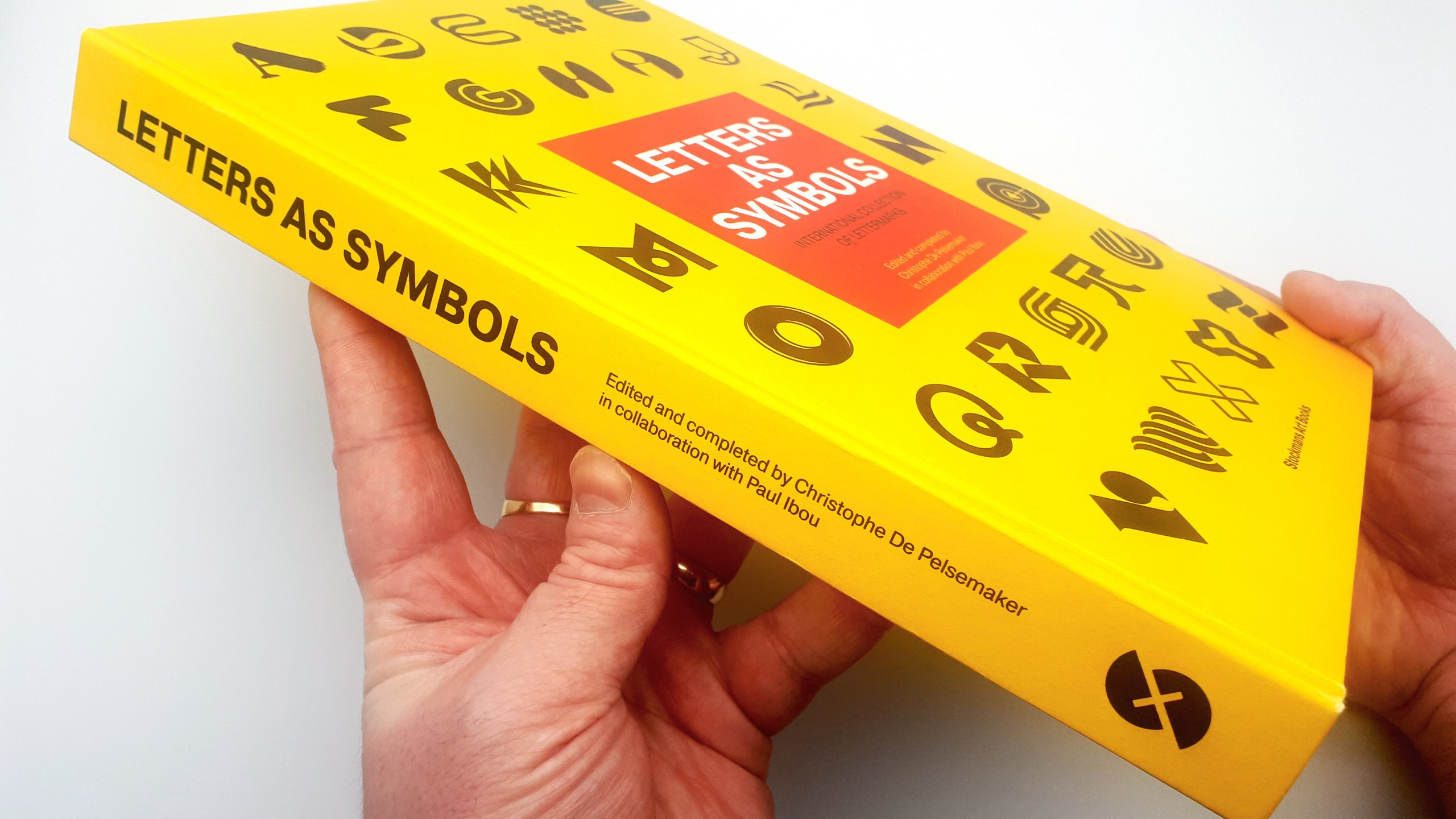 Letters As Symbols by Christophe De Pelsemaker and Paul Ibou - Book Review 1
