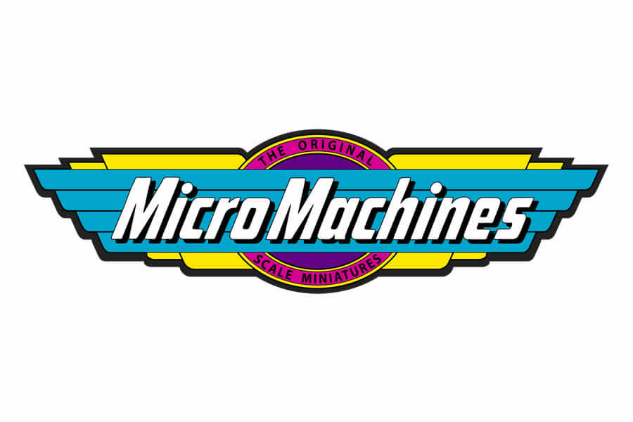 Micro Machines logo design - Inspirational Arcade Game Logos of the 90's