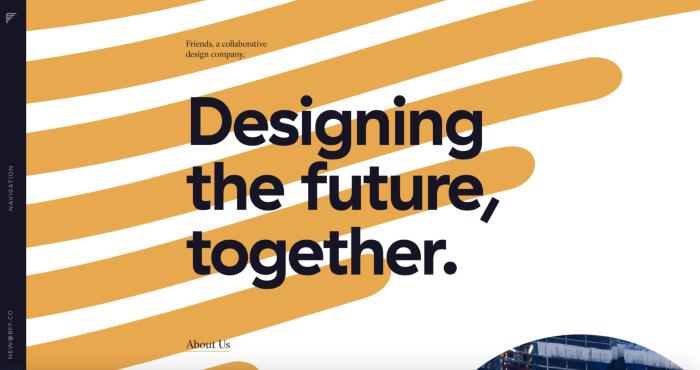 Minimalism in design - brand design trends 2021