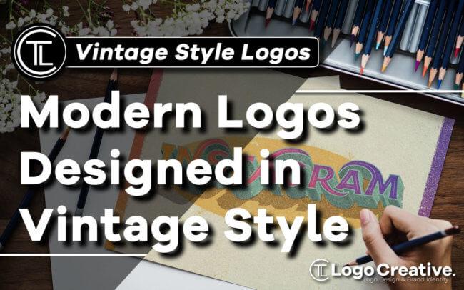 Modern Logos Designed in Vintage Style