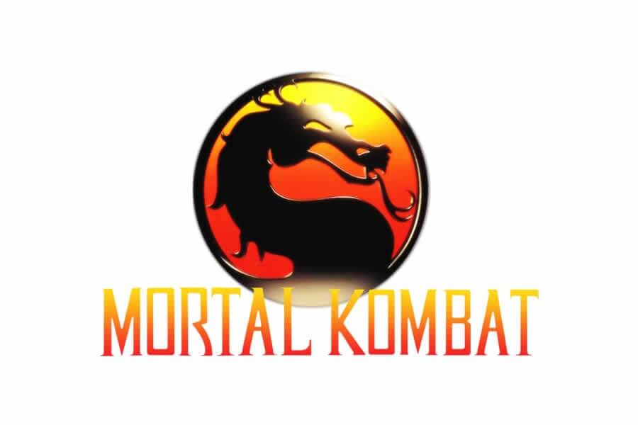 Mortal Kombat logo - Inspirational Arcade Game Logos of the 90's-min