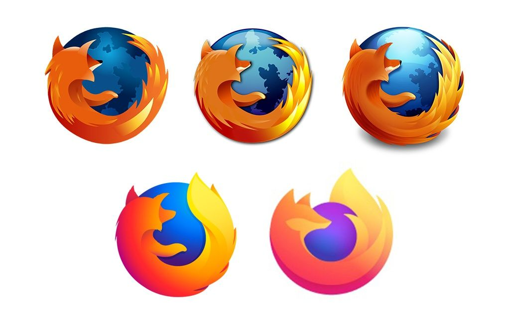 Mozilla Firefox Logo Design Evolution