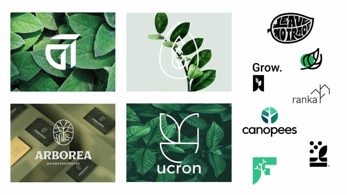 Nature Inspired Logo Design 2021