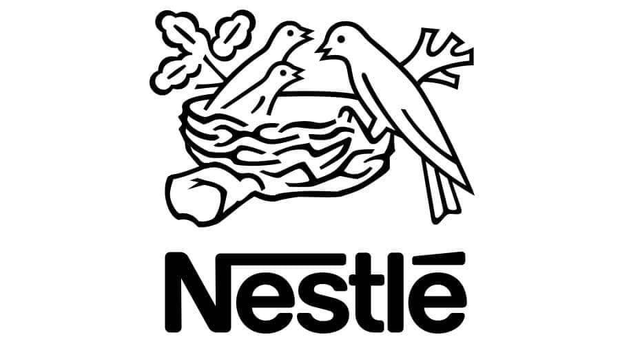 Nestle logo design