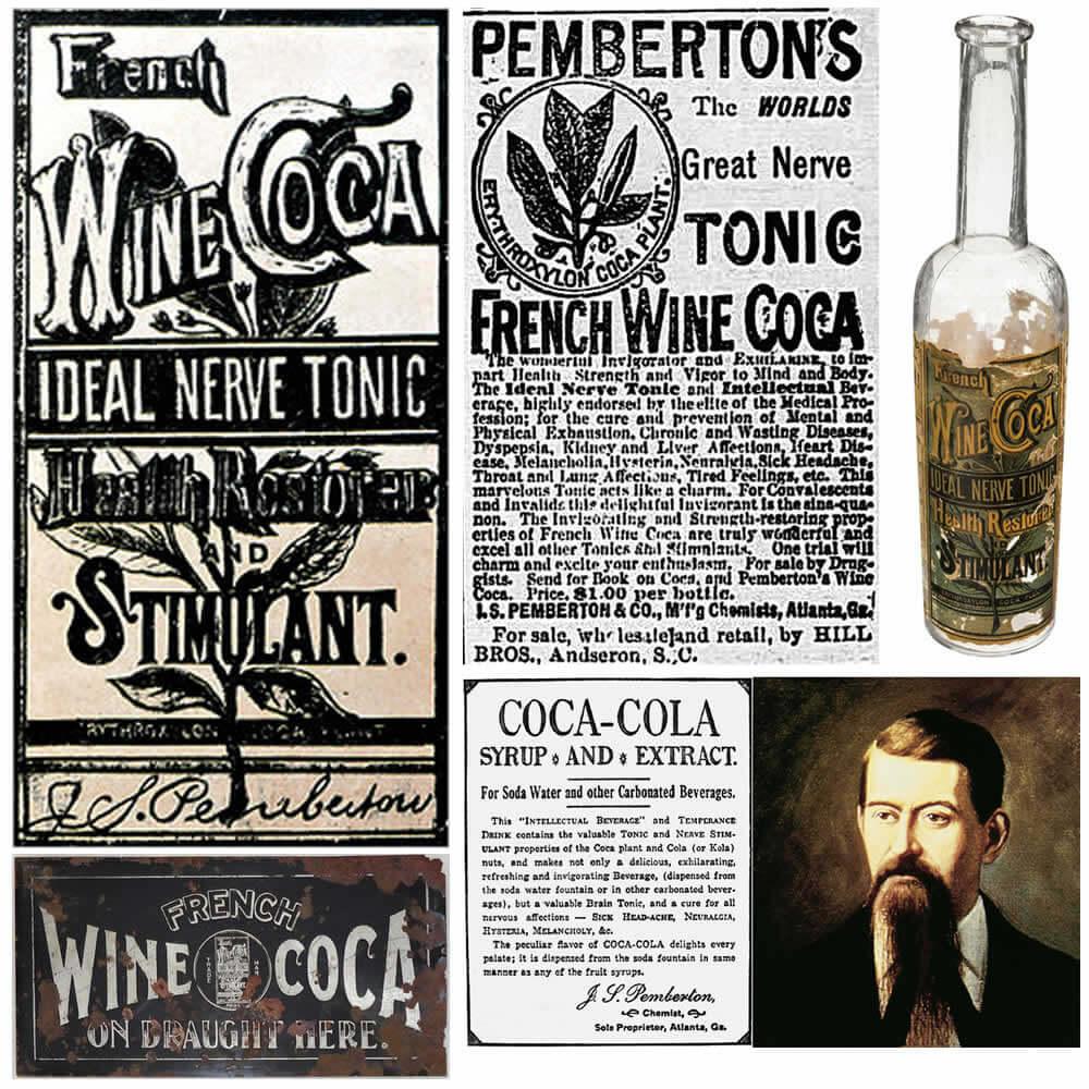 Pemberton's French Wine Coca 1886