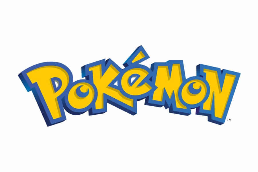 Pokemon logo design - Inspirational Arcade Game Logos of the 90's-min