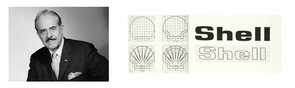 Raymond Loewy - Shell logo 1962 - Logo Designer - Famous Logo Designers and Their Distinctive Style