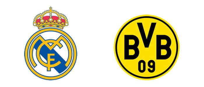 Real Madrid FC, Borussia Dortmund Logo Design
