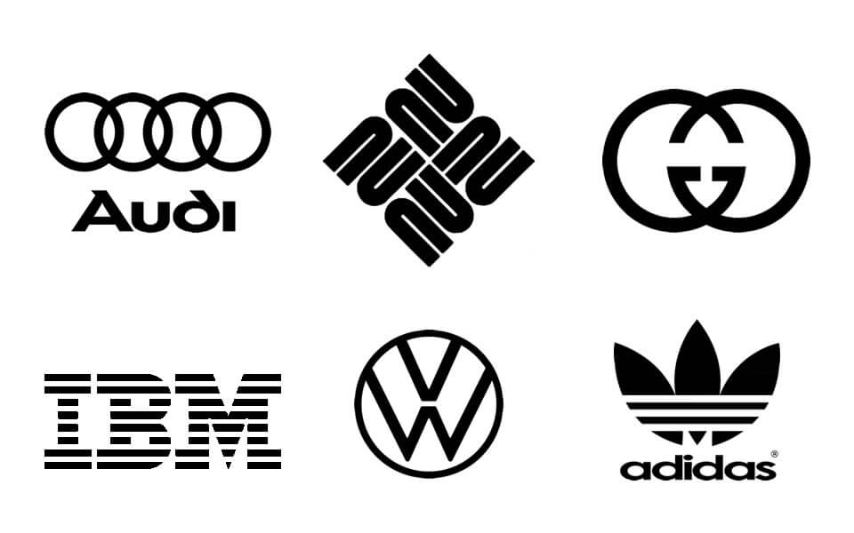 Repetition in Logos - Repeated patterns in logo design