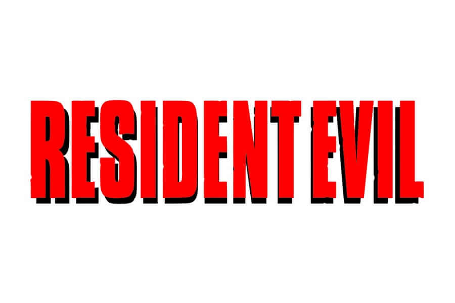 Resident Evil logo design - Inspirational Arcade Game Logos of the 90's-min