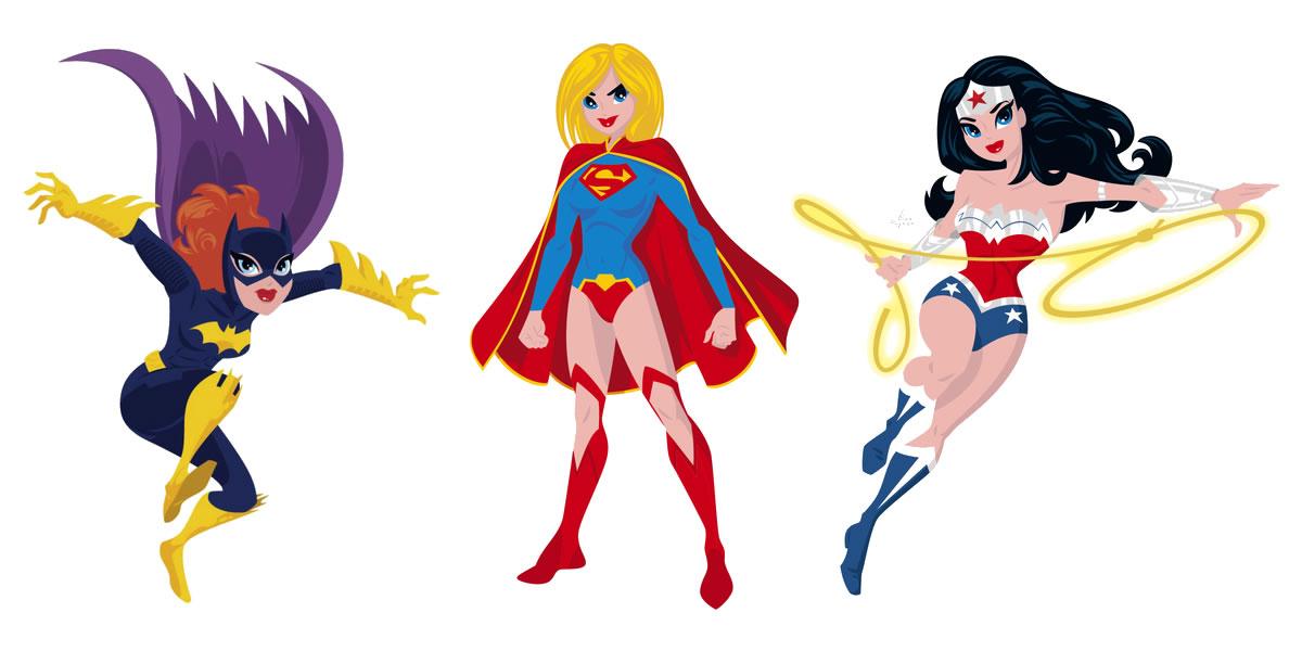 Rian Hughes - Super Hero Comic Book Character Illustrations