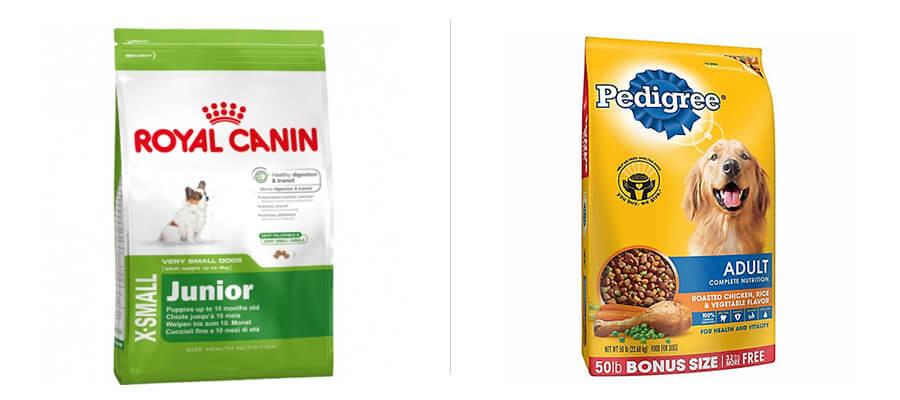Royal Canin, Pedigree Packaging, Logo Design