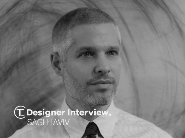 Designer Interview With Sagi Haviv