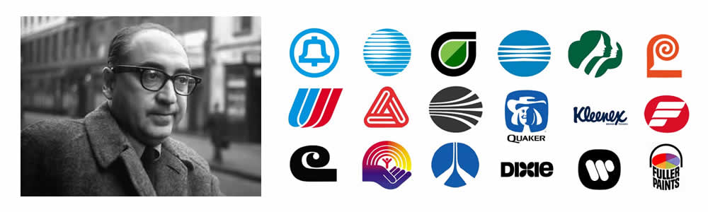 Saul Bass - Logo Designer - Famous Logo Designers and Their Distinctive Style