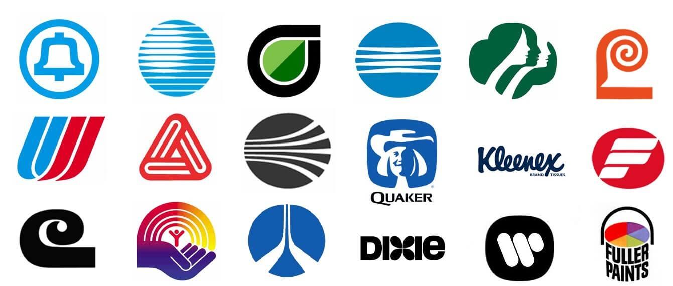 Saul Bass Logos - Logo Design