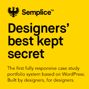 Semplice portfolio system based on WordPress, create a custom portfolio for designers