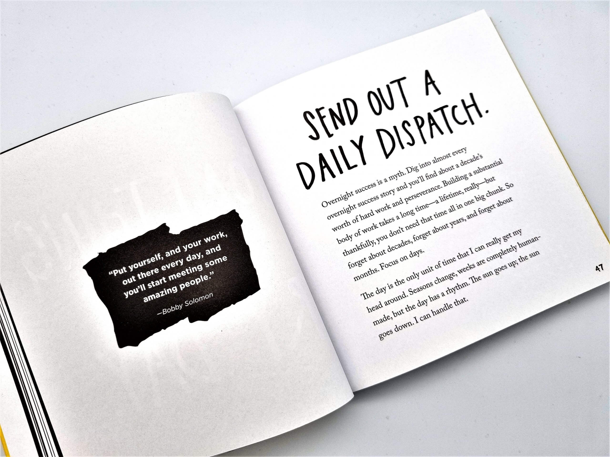 Show Your Work by Austin Kleon - Book Review - The Logo Creative (8)