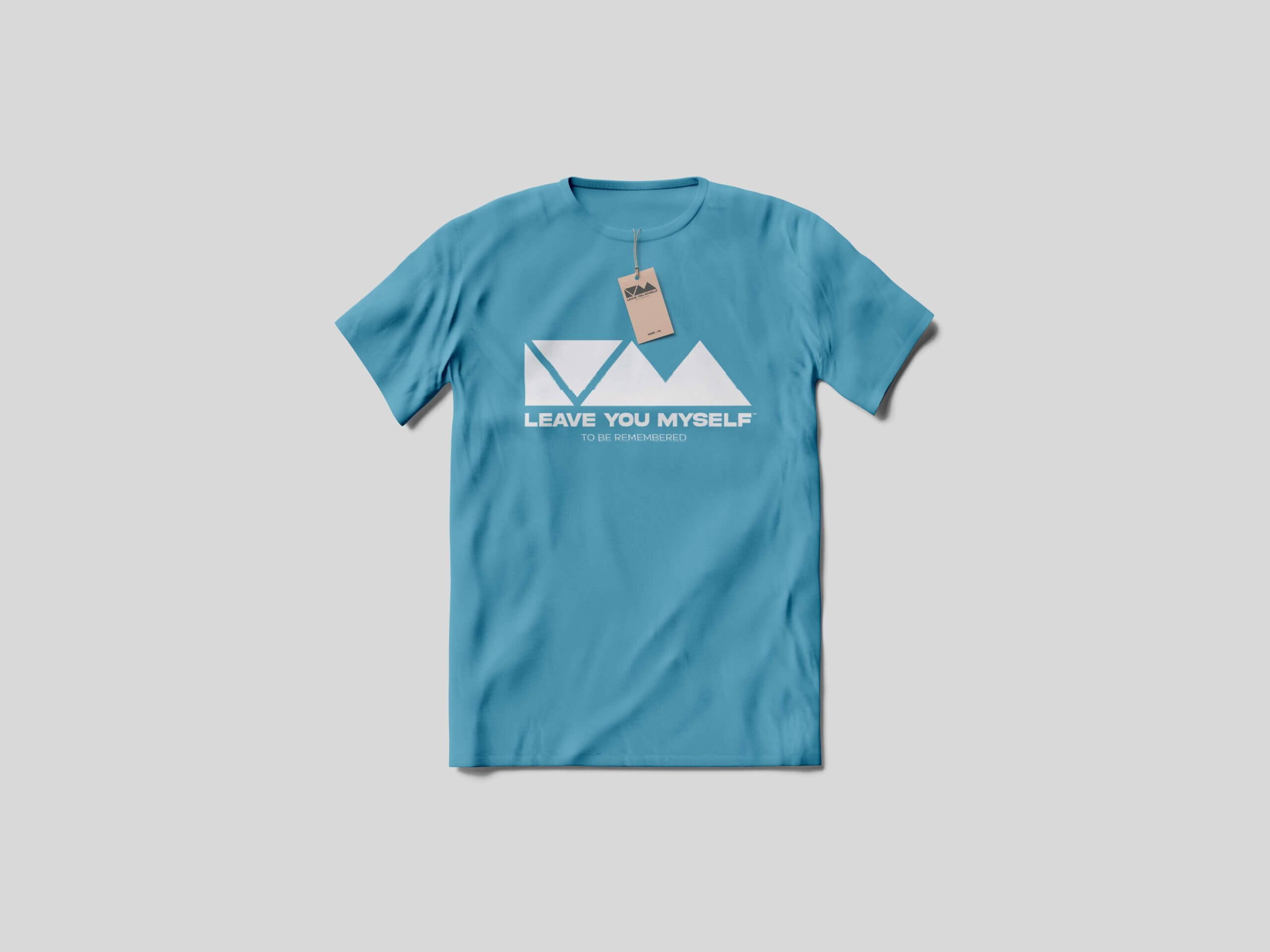 T-Shirt With Tag - Leave You Myself
