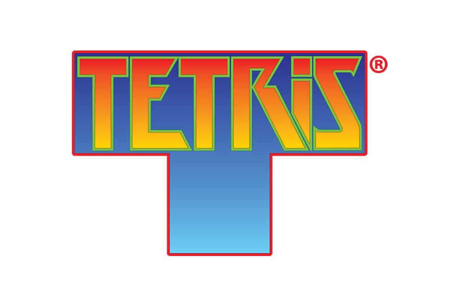 Tetris logo design - Inspirational Arcade Game Logos of the 90's-min
