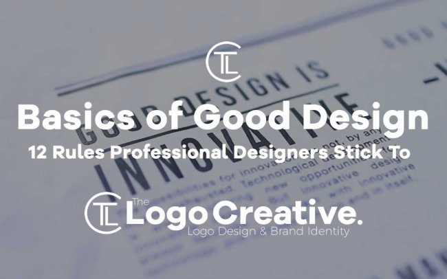 The Basics of Good Design: 12 Rules Professional Designers Stick To