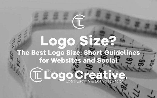 The Best Logo Size: Short Guidelines for Websites and Social