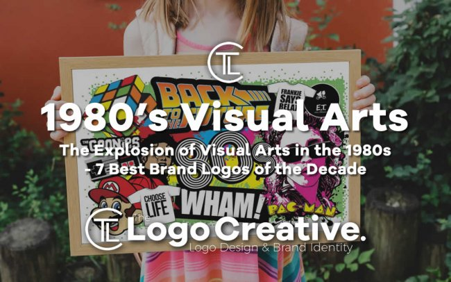 The Explosion of Visual Arts in the 1980s - 7 Best Brand Logos of the Decade
