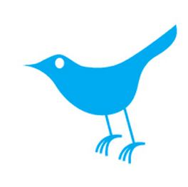 The First Twitter Bird Logo Icon $15