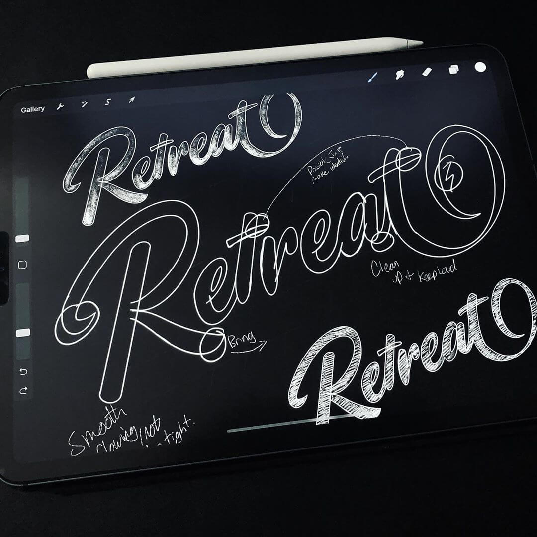 The Logo Creative - Designer Interview With Philip Marland - Logo Design With Procreate
