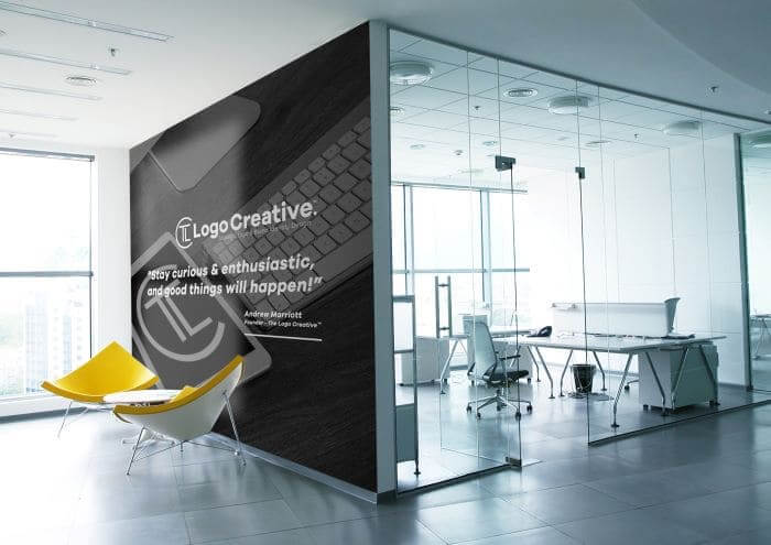How to Boost Your Branding Game with Wall Decals - The Logo Creative