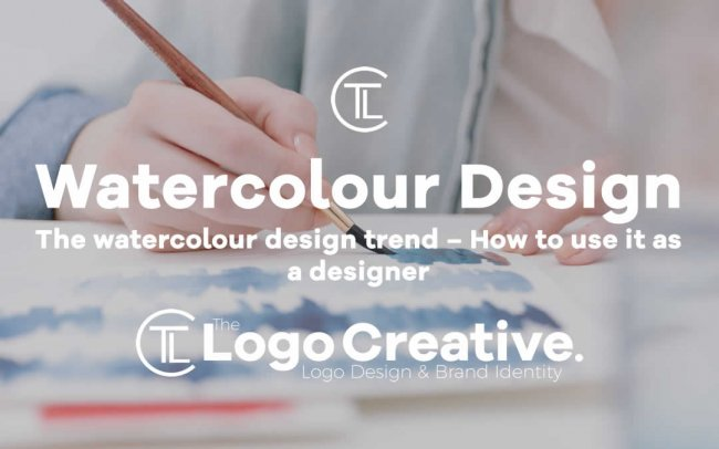 The watercolour design trend – How to use it as a designer