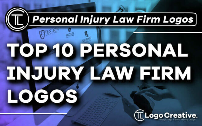 Top 10 Personal Injury Law Firm Logos We've Ever Seen