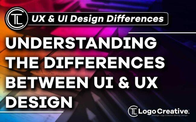 Understanding the Differences Between UI & UX Design
