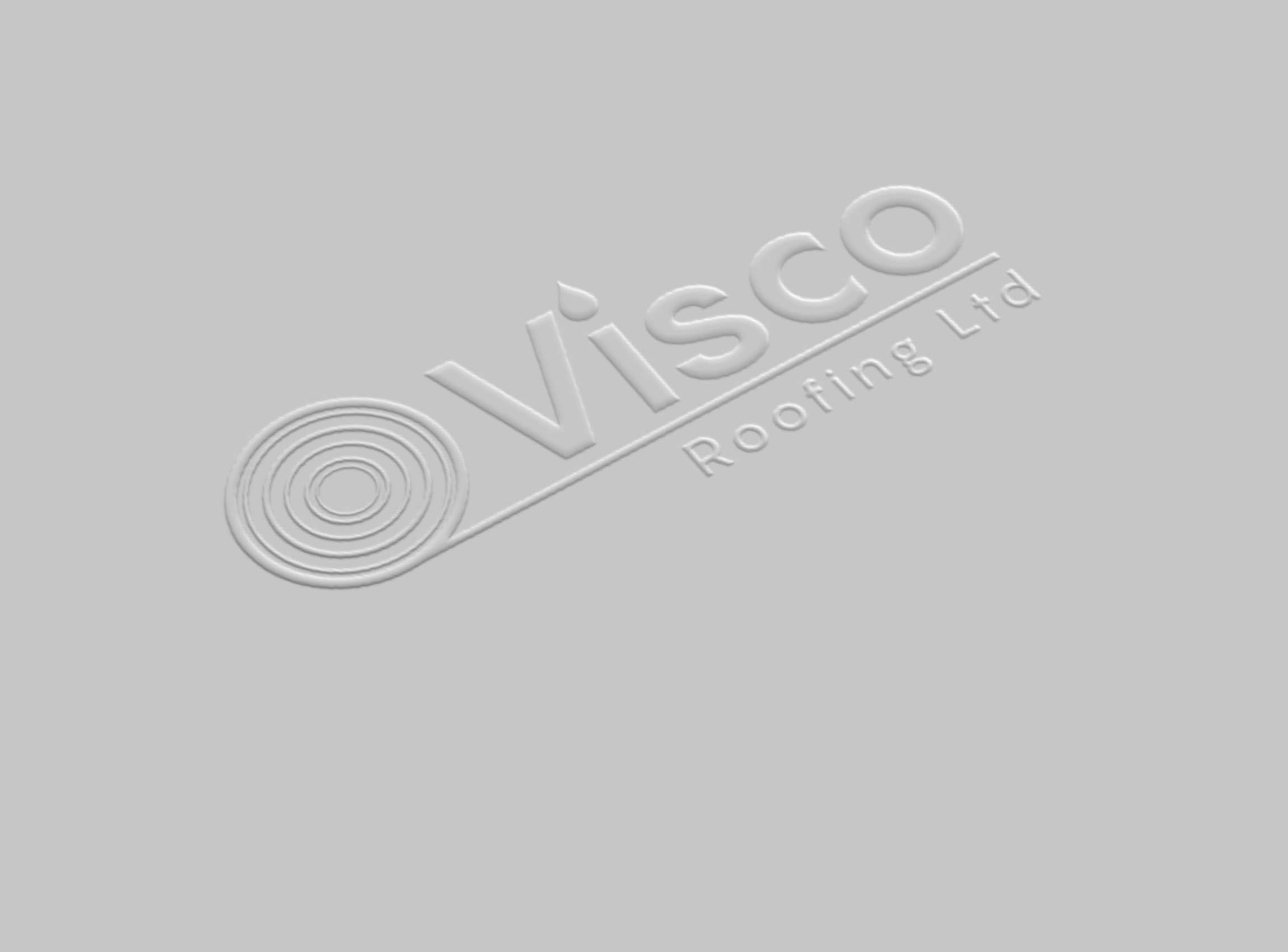Visco Embossed Paper Logo