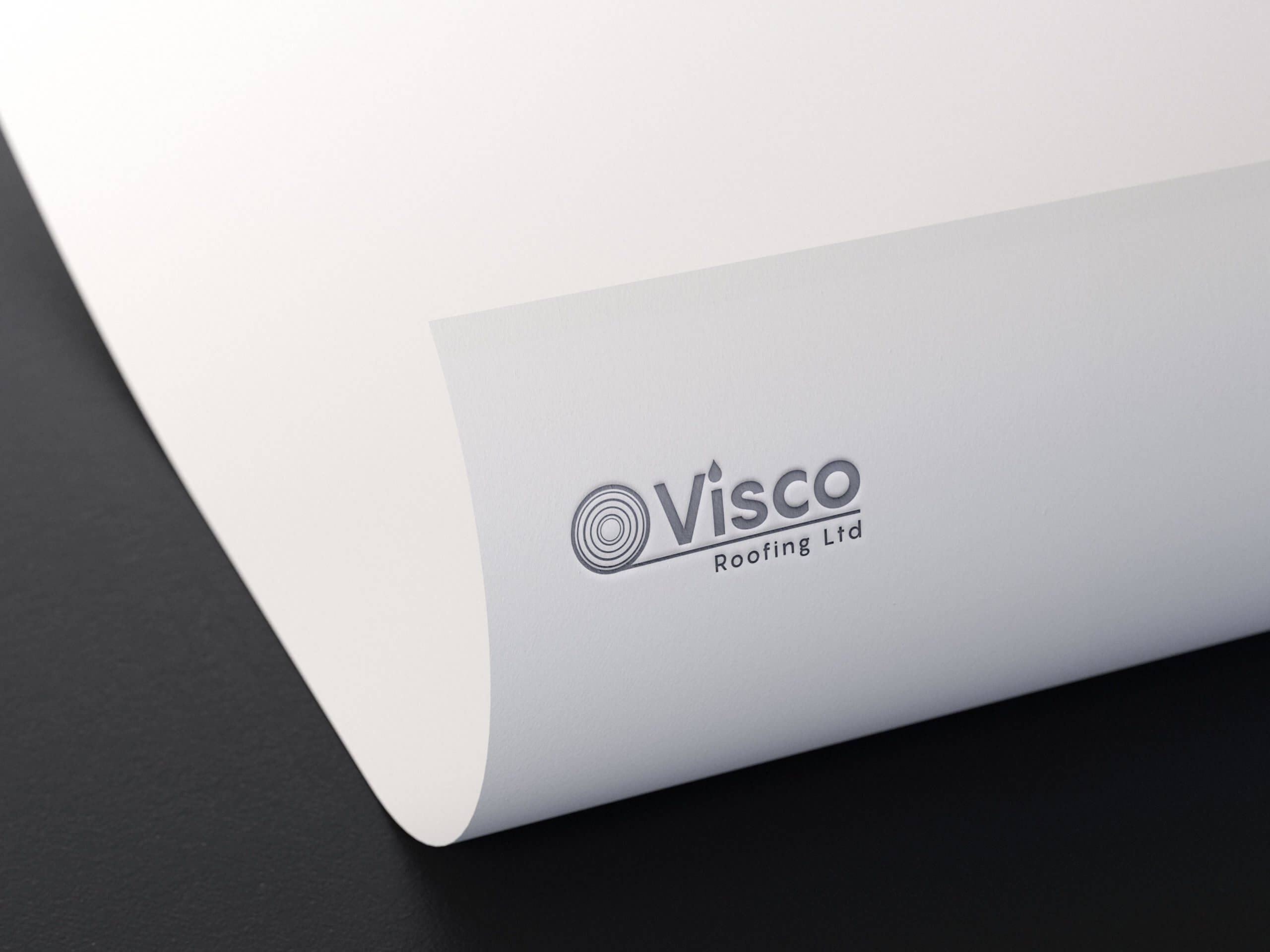 Visco Foil Print Logo Design