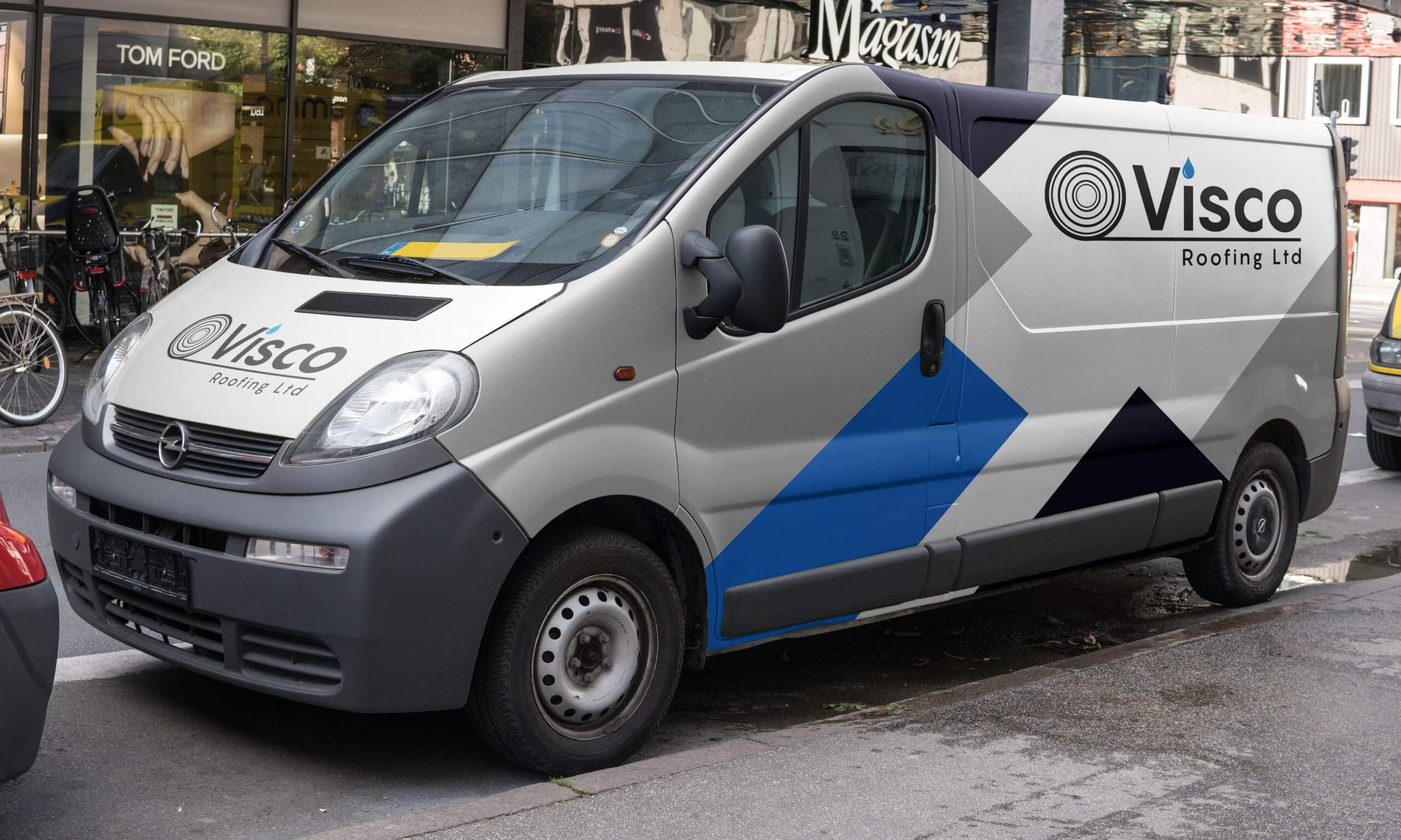 Visco Van Wrap Design