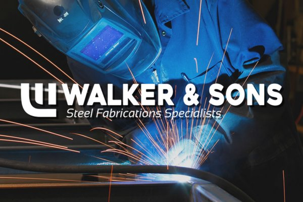 Walker & Sons Steel Fabrication Specialists Ltd Logo Design - The Logo Creative