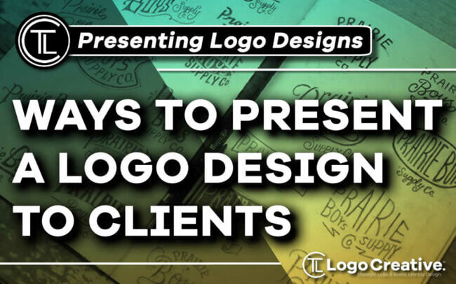 Ways to Present a Logo Design to Clients