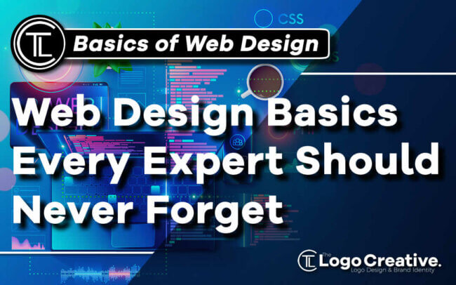 Web Design Basics Every Expert Should Never Forget