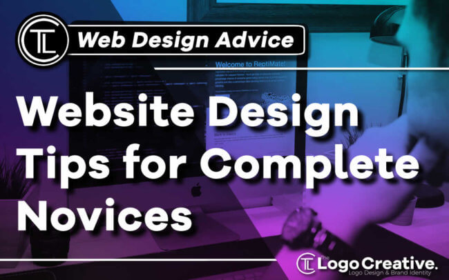 Website Design Tips for Complete Novices