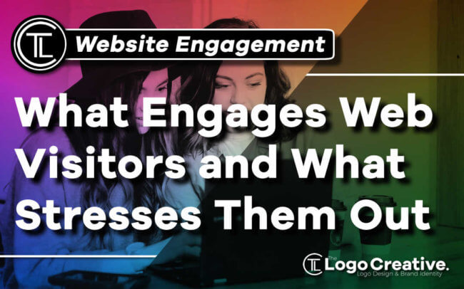 What Engages Website Visitors and What Stresses Them Out