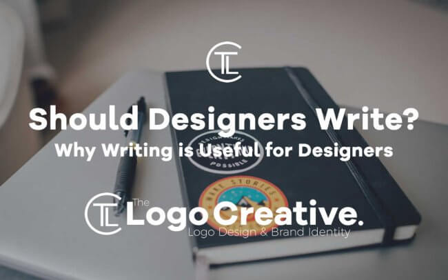 Why Writing Is Useful for Designers
