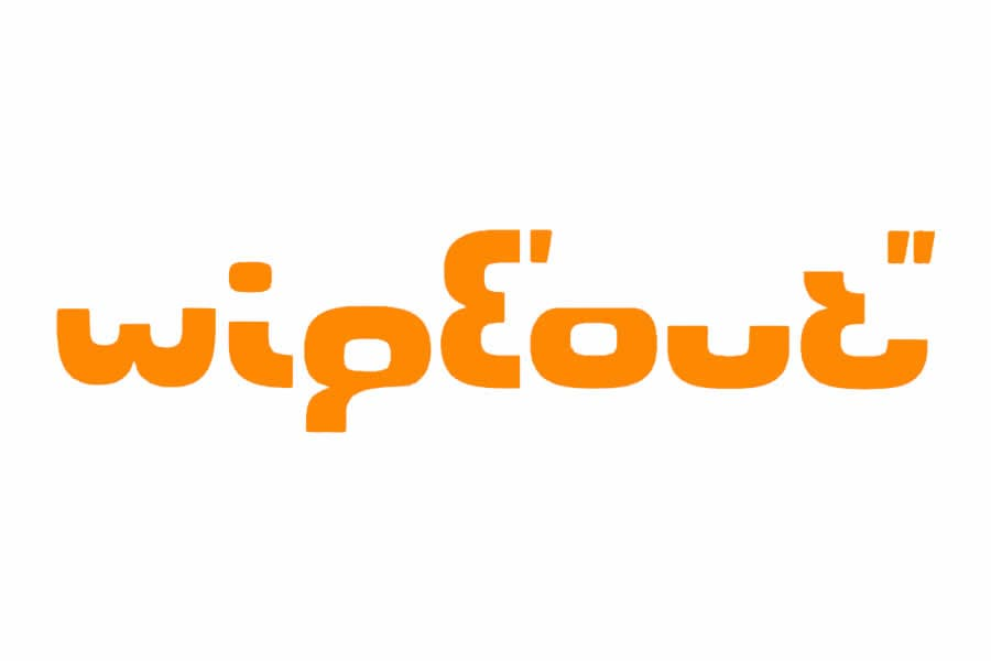 Wipeout logo design - Inspirational Arcade Game Logos of the 90's-min