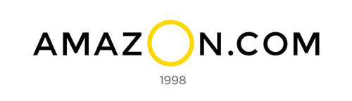 amazon logo design history and evolution_1998 The Biggest O - Giant Ring